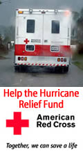 Red Cross secure hurricane relief fund donation page